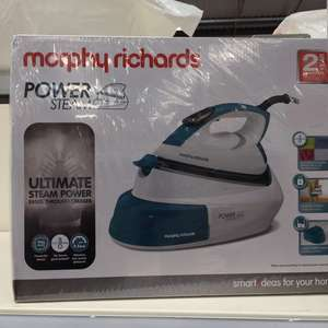 Murphy Richards Steam Generator Iron £39.99 in store at B&M