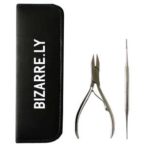 Professional BIZARRE.LY HIGH QUALITY Ingrown TOENAIL KIT - Pedicure Tools For Nail Treatment was £16.99 now £9.99 @ Amazon (Prime) £13.98 non prime Sold by Bizarre.ly and Fulfilled by Amazon.