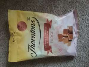 Thorntons Strawberry and Cream Fudge 280g £1 @ Thorntons instore - Llandudno