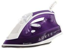 Russell Hobbs 2400W Supreme Steam Traditional Iron in Blue or Purple -  23060 £14.99 delivered @ cpc farnell