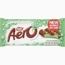 Aero peppermint 100g bars £1 each or two for £1.50 at Morrisons.  Also other bars in the offer too.