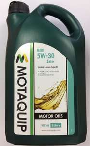 Engine Oil MQB 5w30 Part Semi Synthetic 5L Ford Spec £12.50 @ Click 4 Car Parts Ebay