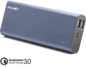BlitzWolf BW-P5 15600mAh Quick Charge 3.0 Dual USB Power Bank - £14.50 @ Banggood