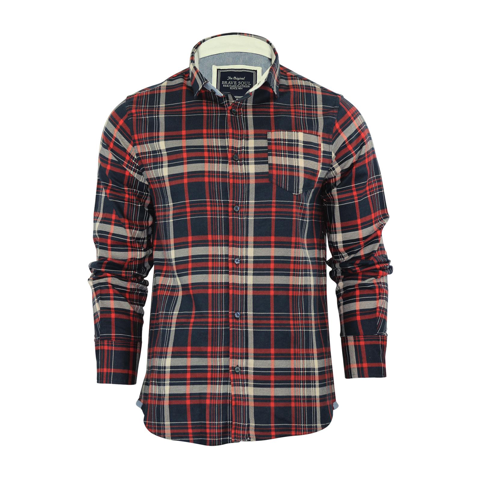 Brave Soul Cotton Shirt £9.99 Delivered @ Ebay Capo_Clothing