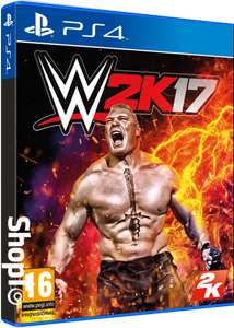 WWE2K17 [PS4] £14.86 / Pro Evolution Soccer 2017 [XO] £12.85 / Batman Arkham Knight [PS4] £9.85 @ Shopto