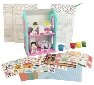 Chad Valley Paint Your Own Dolls House £3.99 @ Argos