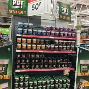 Asda *POT NOODLES* MIXED VARIETIES* 50p