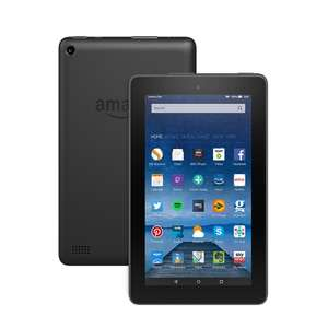 "Fire Tablet, 7"" Display, Wi-Fi, 8 GB (Black)  - Used - very good £22.48  / 16GB £27.86 @ Amazon [Applies at checkout]"