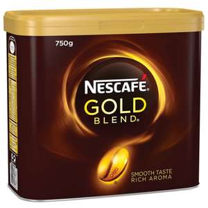 Nescafe GOLD BLEND COFFEE 750gm £19.39 (+£4.99 Delivery) @ Cromwell Free delivery over £20