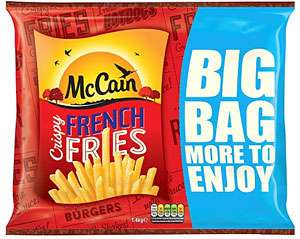 Mccain Crispy French Fries 1.4Kg for £1.40 @ Tesco (from tomorrow)
