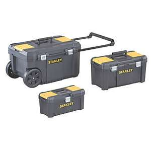 Stanley Tool Chest Bundle (3 tool chest/boxes) £34.99 @ Screwfix