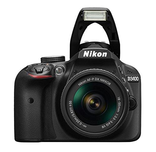 Nikon D3400 Digital SLR Camera - £299 with promotion @ Amazon