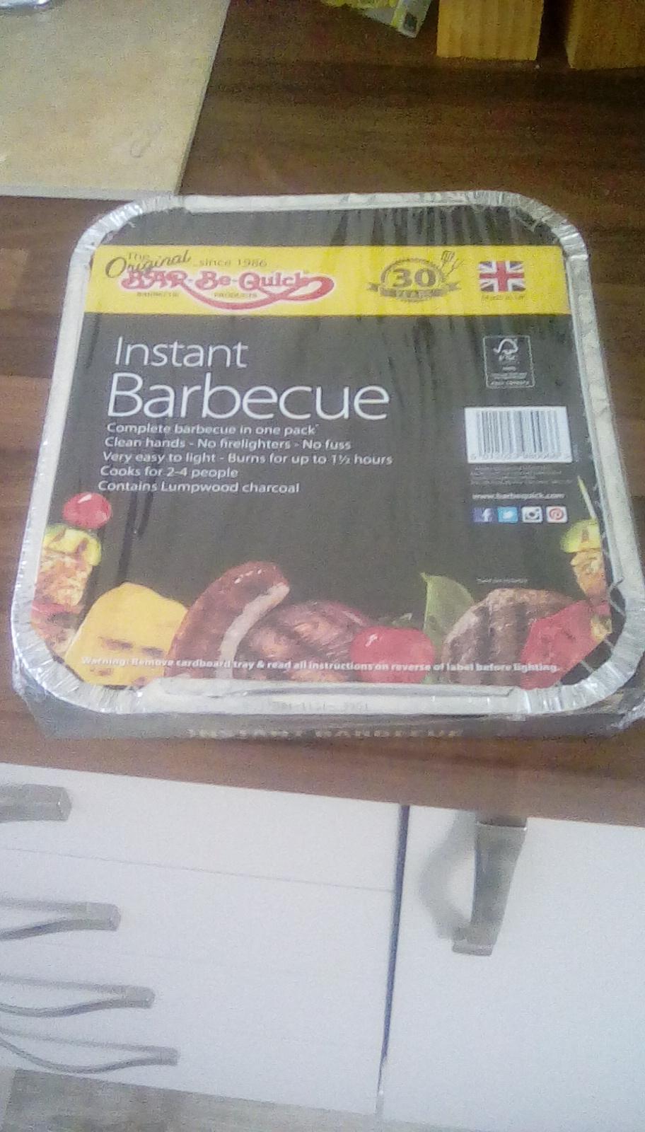 Bar Be Quick instant Barbecue - 25p instore @ Asda