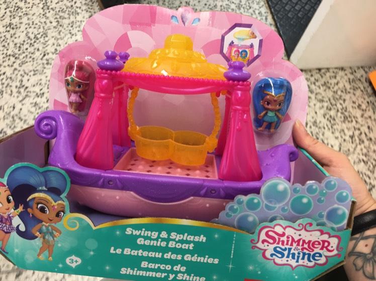 Shimmer & shine bath toys £6 asda rrp £16