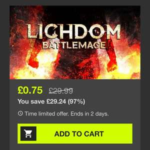 Lichdom: Battlemage - Steam Key - 75p @ Bundlestars