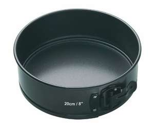 Master Class springform cake tin with loose base 20cm/8inch for less than half price £3.97 @ Amazon (add-on item)