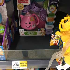 Fisher price Smart stages tea set £5 instore @ tesco