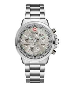 Swiss Military Men's Quartz Watch - Steel Bracelet £71.12 @ Amazon