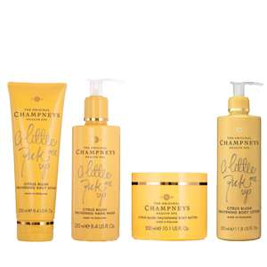 Citrus Blush Bundle direct from Champneys - was £33.00 now £16.00 free delivery over £50.00 otherwise £3.95 delivery COMPARE TO BOOTS - £21.99