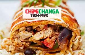 50% off mains (Mon-Wed) or 30% off food (Sun-Fri) @ Chimichanga - via vouchercloud