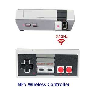 Wireless NES Mini Classic Rechargeable Controller - £9.99 Prime / £13.98 non prime Sold by Tianna-QiShen and Fulfilled by Amazon.