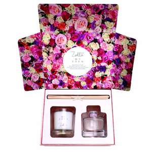 Zoella My Eden Candle & Reed Diffuser set - 3 for £20 at Superdrug online