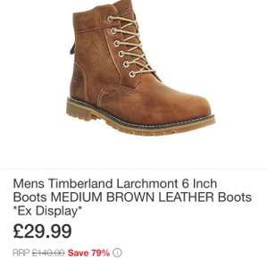 Timberland boots £29.99 @ Office eBay store (ex display)