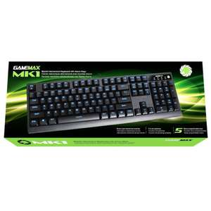 GameMax MK1 - Mechanical Gaming Keyboard (Kailh Brown) eBay - seller kelsusit - £29