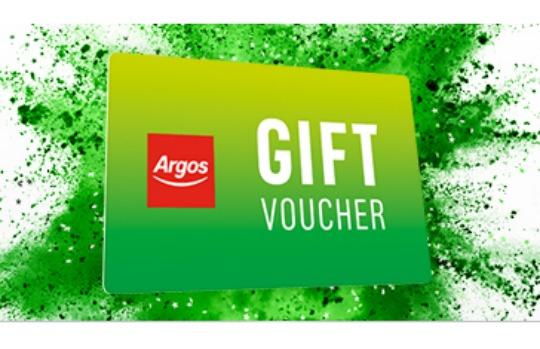 £10 Argos Voucher with Orders Over £50 @ VoucherCodes