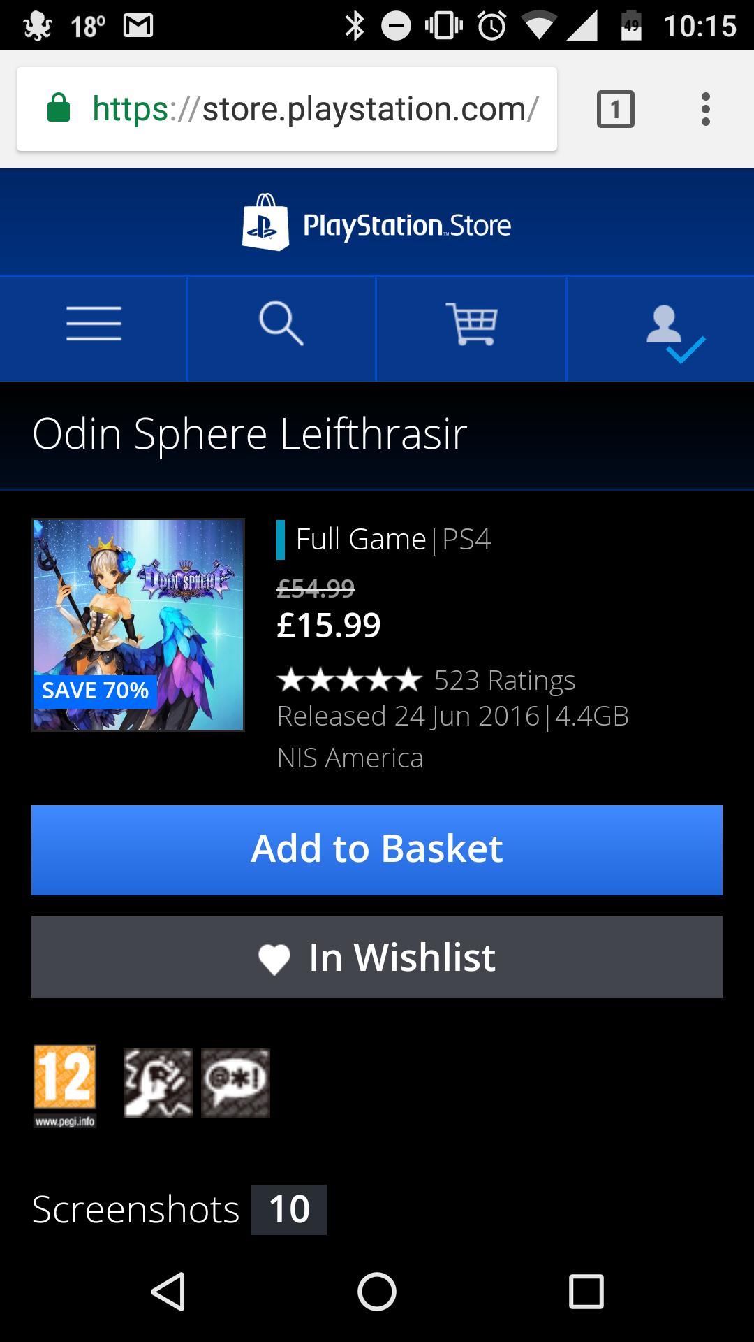 Hidden PSN Store Sale: Odin Sphere Leifthrasir £15.99, Yakuza 0 £24.99, One Piece: Pirate Warriors 3 £9.99