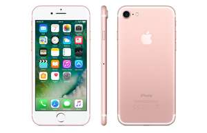 Apple iPhone 7 32GB Silver £27.00 pm and upfront £90 with 3GB Data O2 @ Mobiles.co.uk- £738 total cost