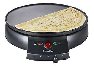 Breville VTP130 Traditional Crepe Maker, 12-Inch, Black - £22.49 @ Amazon