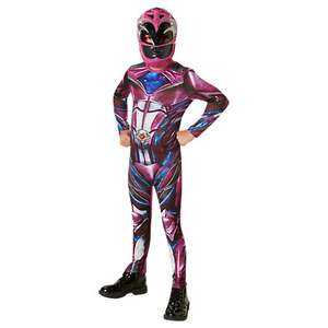 Power Rangers Pink dressing up costume was £20.00 now £12.00 Sizes 3yr and 5yr (the only sizes they sell) at John Lewis