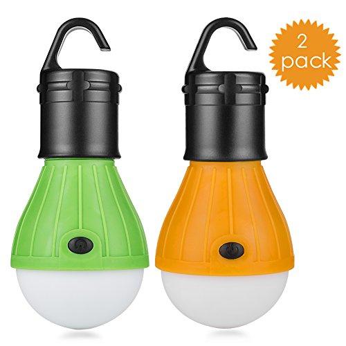 Eletorot Portable Outdoor COB150 Lumens Emergency Light Lamp Lantern (2 Pack) for £5.29 (Prime) £9.28 (Non Prime) @ Amazon Sold by Xinyue-EU