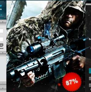 Sniper: Ghost Warrior Trilogy - 87% off - STEAM KEY - Gamersgate - £2