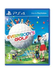 [PlayStation Fore] Everybody's Golf inc Pre-order DLC - £23.84 - Base