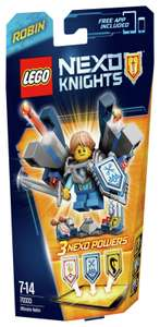 LEGO Nexo Knights Ultimate Robin (70333)  £3.49 and free delivery from the Official Argos Shop on ebay