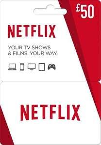 £50 Netflix Gift Card for £45.59 using FB Code at CDKeys