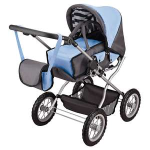 Baby Doll Large Pram & Accessories (Was  £45.00) Now £22.50 + More Toys reduced from £3.92 at John Lewis