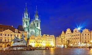 Long weekend in Prague for £80 each (£160 total) including flights and 3* central hotel @ Amoma
