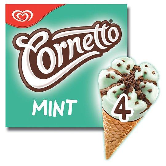 Cornetto Classico / Mint / Strawberry Ice Cream Cones (4 x 90ml) was £2.20 now £1.00 @ Tesco