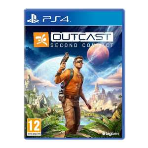 Outcast Second Contact PS4 Game £29.99 - 365games