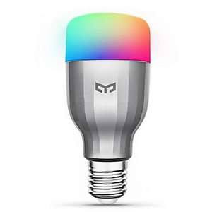 Xiaomi Yeelight AC220V RGBW E27 Smart LED Bulb now £8.49 delivered with code @ Gearbest