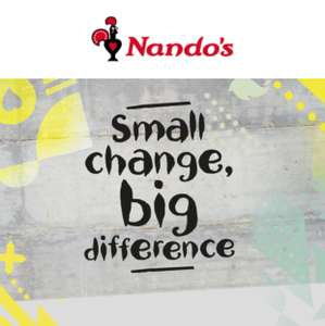 Save the people who gives us the yummy PERi-PERi chillies at Nando's Fighting Malaria bracelet.