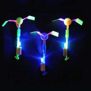 Arrow Helicopter LED Flying toy 1p delivered @ Yoshop