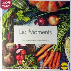 £5 off £30 spend @ Lidl with 'Lidl Moments' voucher