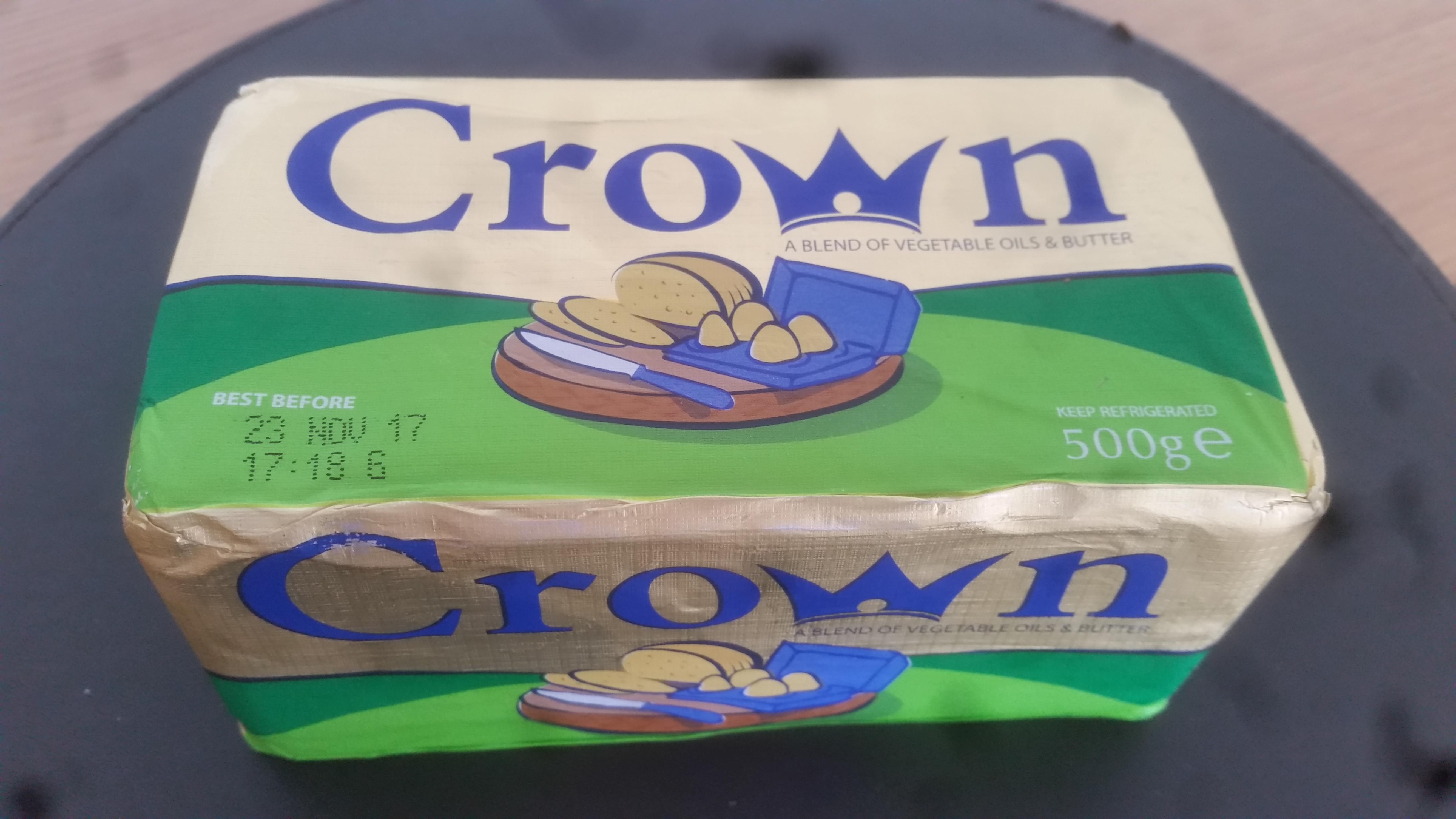 Crown blended Butter 500g block  90p @ Asda instore
