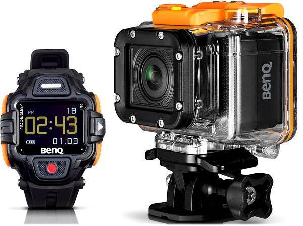 BenQ QC1 4G Action Cam & ViewFinder watch £40.49 @ Scan