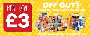 one stop £3 meal deal maximum value £7.10