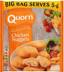 Quorn Meat Free Nuggets (Larger size pack 476g) Half Price was £3.00 now £1.50 @ Tesco